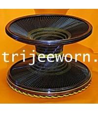 ขาบาตร แก่นขาม (พิเศษ) Tamarind Heartwood Alms Bowl Stand (Custom)