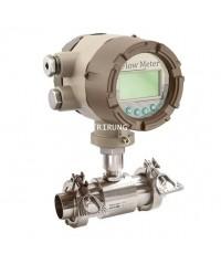 เครื่องวัดการไหลแบบใบพัด Sanitary Liquid Turbine Flow Meter LWS