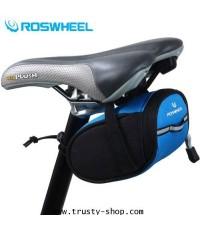 กระเป๋าติดจักรยาน Roswheel แบบใต้เบาะ สีฟ้าสดใส Saddle Bag Code 0814