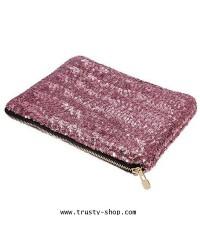 กระเป๋าถือผู้หญิง กระเป๋าสตางค์ กระเป๋าใส่ของใบสวย - 1577 สีชมพู