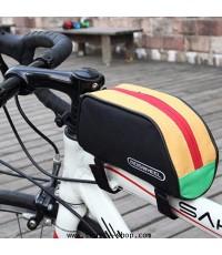 กระเป๋าติดจักรยาน กระเป๋าจักรยาน Roswheel บนเฟรม สีมัลติ