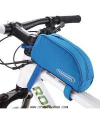 กระเป๋าติดจักรยาน กระเป๋าจักรยาน Roswheel บนเฟรม สีดำ-ฟ้า
