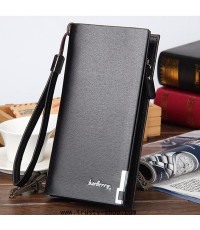 กระเป๋าเงินยาว กระเป๋าโทรศัพท์ Baellerry 1754 (สีดำ)
