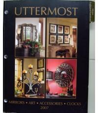 UTTERMOST งานกรอบรูปไม้+กระจก+อุปกรณ์ตกแต่งบ้านที่ทำจากโลหะประยุกต์