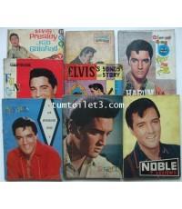หนังสือเพลง ELVIS PRESLEY(เอลวิส เพรสลี่ย์) รวม  8 เล่ม