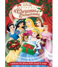 Disney Princess a Christmas of Enchantment (พากย์อังกฤษ) DVD 1 แผ่น