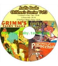 นิทานดนตรี Audio Books Children\'s Stories Vol.3 (CD 1 แผ่น) เสียงอังกฤษ