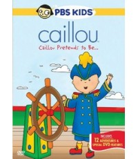Caillou ดีวีดีคายุ Vol.13 Pretends to be (พากย์อังกฤษ/ซับอังกฤษ) DVD 1 แผ่น
