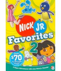Nick Jr. Favorites 2 (พากย์อังกฤษ) DVD 1 แผ่น รวม 8 ตอน