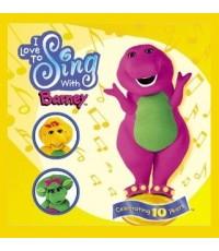 เพลง I Love to Sing with Barney: Celebrating 10 Years (เสียงอังกฤษ) รวม 27 เพลง CD 1 แผ่น