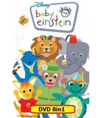 Baby Einstein เบบี้ไอน์สไตน์ 8in1 พากย์อังกฤษ (รวมจากดีวีดี 8 แผ่น ไว้ใน 1 แผ่น) 1DVD