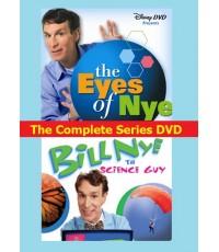 Bill Nye The Science Guy+The Eyes of Nye (พากย์อังกฤษ) DVD 6 แผ่น Complete Series [รวม110ตอน]