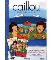 Caillou Collection Family Vol.2 (DVD 1 แผ่น) พากย์อังกฤษ