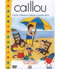 Caillou Collection Family Vol.8 (DVD 1 แผ่น) พากย์อังกฤษ