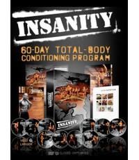 Shaun T : INSANITY Workout [Deluxe Edition] พากย์อังกฤษ DVD ชุด 6แผ่น (รวมจาก 14 แผ่น)