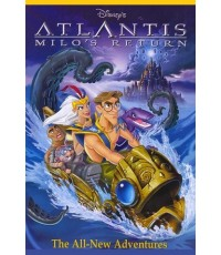 Atlantis 2 Milo's Return ผจญภัยแดนอาถรรพ์ (DVD 1 แผ่น) พากย์ไทย,อังกฤษ,ฝรั่งเศส/ซับไทย,อังกฤษ