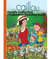 Caillou Collection Family Vol.4 (DVD 1 แผ่น) พากย์อังกฤษ