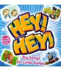 เพลงการ์ตูนภาษาอังกฤษ Hey! Hey! Big Songs For Little People (CD 1 แผ่น) รวม 26 เพลง