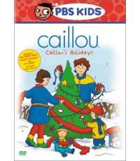 Caillou ดีวีดีคายุ Vol.4 Caillou\'s Holidays (พากย์อังกฤษ) DVD 1 แผ่น