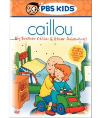 Caillou ดีวีดีคายุ Vol.1 Big Brother And Other Adventures (พากย์อังกฤษ) DVD 1 แผ่น