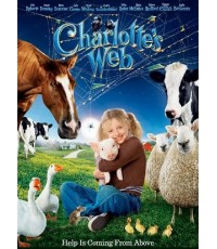 Charlotte\'s Web Movie แมงมุมเพื่อนรัก (พากย์+ซับ 3 ภาษา: ไทย,อังกฤษ,เกาหลี) DVD 1 แผ่นจบ
