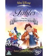 Walt Disney\'s Fables Vol.3 (พากย์+ซับหลายภาษา มีภาษาอังกฤษ) ดีวีดี 1 แผ่น