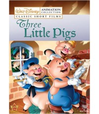 Walt Disney Animation Collection Vol.2 Three Little Pigs (พากย์อังกฤษ/ซับไทย) DVD 1 แผ่น