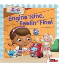 Doc McStuffins - Engine Nine, Feelin\' Fine! and Other Stories... (พากย์อังกฤษ) DVD 1 แผ่น
