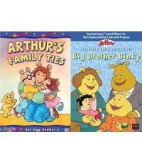 Arthur : Family Ties+ Big Brother Binky (พากย์+ซับอังกฤษ,ญี่ปุ่น,ฝรั่งเศส) DVD 2 แผ่น