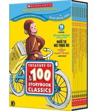 นิทานภาพเคลื่อนไหว Scholastic Treasury of 100 Storybook Classics (พากย์อังกฤษ) DVD 16 แผ่น