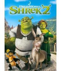 Shrek 2 เชร็ค ภาค 2 (พากย์+ซับ 2 ภาษา ไทย,อังกฤษ) DVD 1 แผ่น