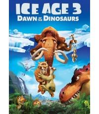 Ice Age 3 Dawn of the Dinosaurs ไอซ์เอจ ภาค3 จ๊ะเอ๋ไดโนเสาร์ (พากย์+ซับ ไทย,อังกฤษ) DVD 1แผ่น