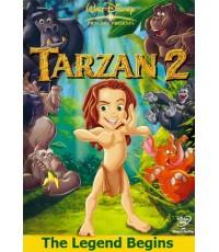 Tarzan 2: The Legend Begins ทาร์ซาน ภาค 2 ซูกอร์จ้าวแห่งภูผามืด (2 ภาษา ไทย/อังกฤษ) 1 DVD