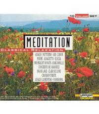 Meditation Classical Relaxation 10 Volume Set (CD 10 แผ่น)