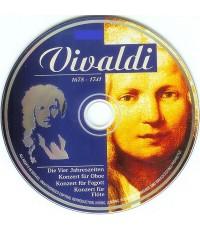 Antonio Vivaldi (1678-1741) Diamond Classical and 4 Seasons (CD 1 แผ่น)