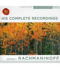 Sergej Rachmaninoff Classical (1873-1943) His Complete Recordings [CD 1 แผ่น]