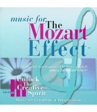 The Mozart Effect Vol.3 Unlock The Creative Spirit (CD 1 แผ่น) Music for Creativity and Imagination