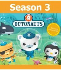 Octonauts Season 3 Vol.1-2 (พากย์อังกฤษ) DVD 2 แผ่น รวม 18 ตอน