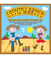 เพลงคันทรี่สำหรับเด็ก Country Songs for Kids (เสียงอังกฤษ) CD 1 แผ่น รวม 18 เพลง