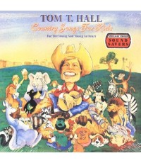 เพลงคันทรี่สำหรับเด็ก Tom T.Hall : Country Songs For Kids (เสียงอังกฤษ) CD 1 แผ่น