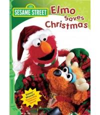 Elmo 123 Sesame Street: Elmo Saves Christmas (พากย์+ซับ อังกฤษ) DVD 1 แผ่น