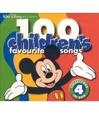 เพลงภาษาอังกฤษเด็ก Disney Children\'s Favorite Songs 4in1 (CD MP3/ 1 แผ่น) รวม 100 เพลง