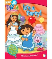 Dora The Explorer: It\'s A Party! (พากย์อังกฤษ) DVD 1 แผ่น