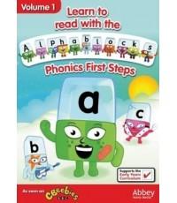 Alphablocks Vol.1 Pnonics First Step ดีวีดีสอนโฟนิกส์ จาก BBC (พากย์อังกฤษ) DVD 1 แผ่น