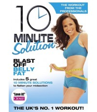 10 Minute Solution : Blast Off Belly Fat พิลาทิส ลดกระชับหน้าท้อง (DVD 1 แผ่น) พากย์อังกฤษ