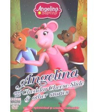 Angelina and the Cheddar Cheese Slide แองเจลีน่ากับท่าเต้นเชดด้าชีส (2 ภาษา ไทย,อังกฤษ) DVD 1 แผ่น