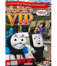 Thomas and Friends : Spencer\'s VIP แขกวีไอพี (พากย์+ซับ 2 ภาษา) DVD 1 แผ่น