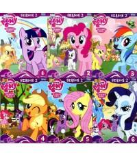 My Little Pony 2 ภาษา Friendship is Magic มหัศจรรย์แห่งมิตรภาพ Season 2 Vol.1-6 (ไทย,อังกฤษ) 6 DVD