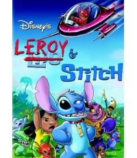 2006: Lilo and Stitch ภาค 3 - Leroy and Stitch ลีรอย แอนด์สติทซ์ (พากย์อังกฤษ) DVD 1 แผ่น