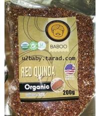 คีนัว (Red) Quinoa Organic 200 กรัม [นำเข้าจากอเมริกา]